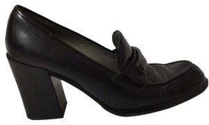 Prada Black Wedges