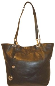 Brighton Refurbished Leather Tote in Black