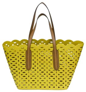 Sondra Roberts Tote in Citron Green