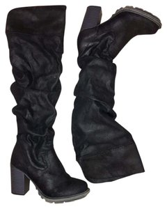 Other Kneehigh Winter Black Boots