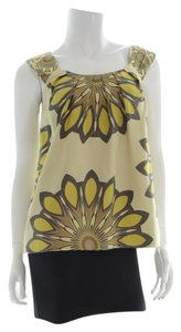 Vince Top Yellow/Brown