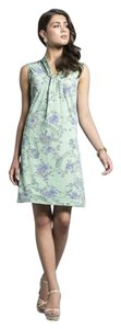 Leota short dress Green Lilac on Tradesy