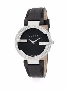 Gucci Diamond Interlocking G Watch