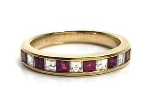 Tiffany & Co. Tiffany & Co. Tiffany Lucida Ruby Diamond Wedding Ring 5.5
