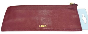 Lodis Lodi's Leather Credit Card Stacker NWT Red for Christmas!