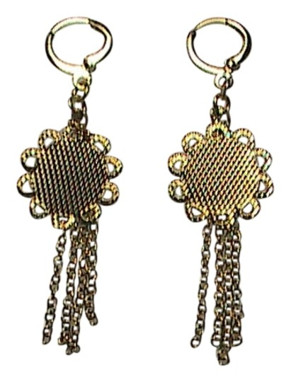 Unknown Beautiful Gold Filled Dangle earrings Image 0