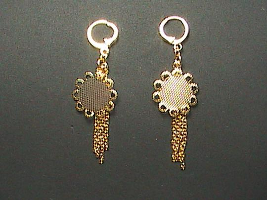 Unknown Beautiful Gold Filled Dangle earrings
