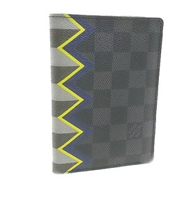 Louis Vuitton Authentic Louis Vuitton Damier Graphite Passport Cover Karakoram