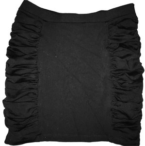 David Lerner Mini Skirt Black