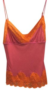 Betsey Johnson Top Pink/orange
