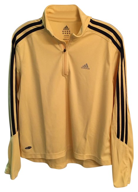 Item - Yellow/Navy Blue Climalite Half Zip Pullover Activewear Top Size 12 (L, 32, 33)