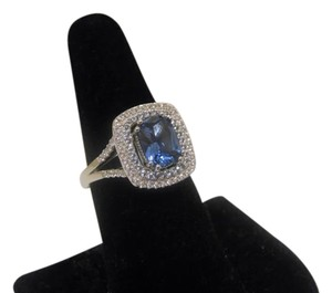 Victoria Wieck Victoria Wieck 3.29ctw Absolute Simulated Sapphire Ring