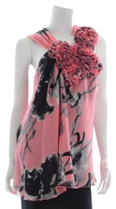 Robert Rodriguez Top Pink/Black