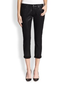 Paige Denim Coated Modern Boyfriend Cut Jeans-Coated