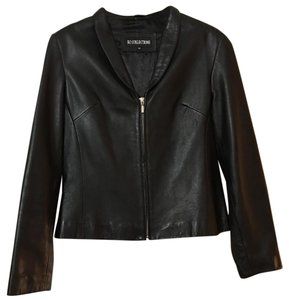 KC Collections Leather Leather Jacket