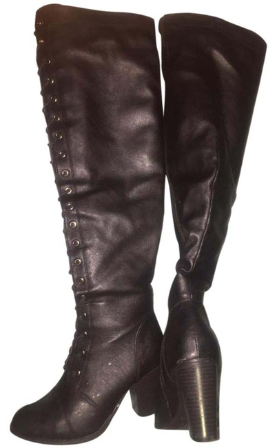 Item - Black Sexy Boots/Booties Size US 6 Regular (M, B)