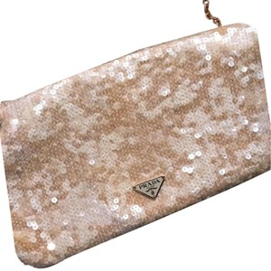 12a24c7575fb Gold Prada Clutches - Up to 90% off at Tradesy