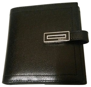 Coach Coach Black Bifold Wallet