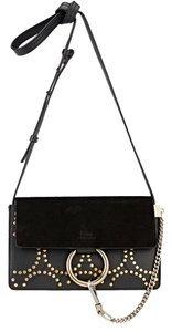 Chloé Chloe Suede Studded Faye Cross Body Bag