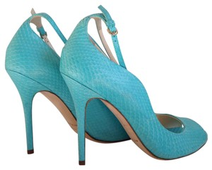 Brian Atwood Turquoise Pumps