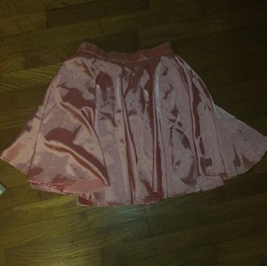 American Apparel Mini Skirt Pink