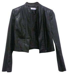 Calvin Klein Faux Leather Vegan Motorcycle Jacket