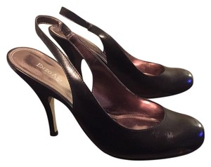 Enzo Angiolini Slingback Classy Work Wide Width Black Pumps