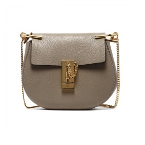 Chlo Drew Mini Pink Cement Nude Cross Body Bag
