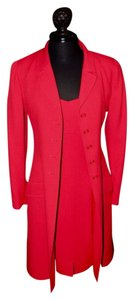 Chanel short dress Fire Engine Red on Tradesy