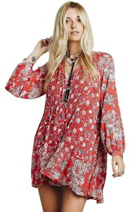 Free People short dress blood orange on Tradesy