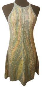 Coogi short dress Multi-color Pastels Vintage Halter A-line Classic on Tradesy