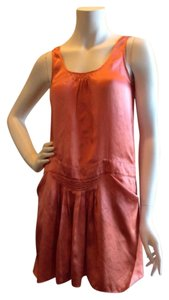 See by Chloé short dress Coral pink on Tradesy