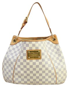 Louis Vuitton Lv Damier Azur Galliera Pm Canvas Shoulder Bag