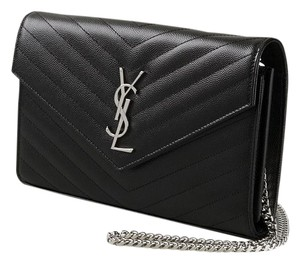 Saint Laurent Ysl Nwt Pink Woc Wallet Cross Body Bag
