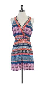 Laundry by Shelli Segal short dress Multi Color Print Sleeveless on Tradesy