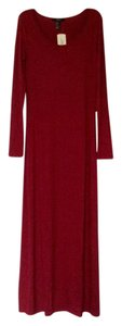 Cranberry red Maxi Dress by Forever 21
