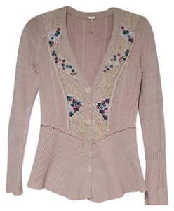 Free People Peplum Sequin Cardigan