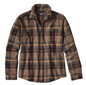 Patagonia Button Down Shirt Stone Pine: Oaks Brown