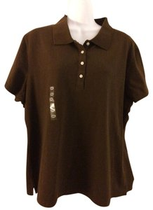 Lady Foot Locker T Shirt Brown