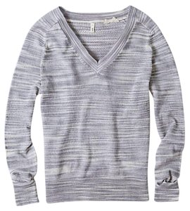 Anthropologie Open Knit Back Sweater