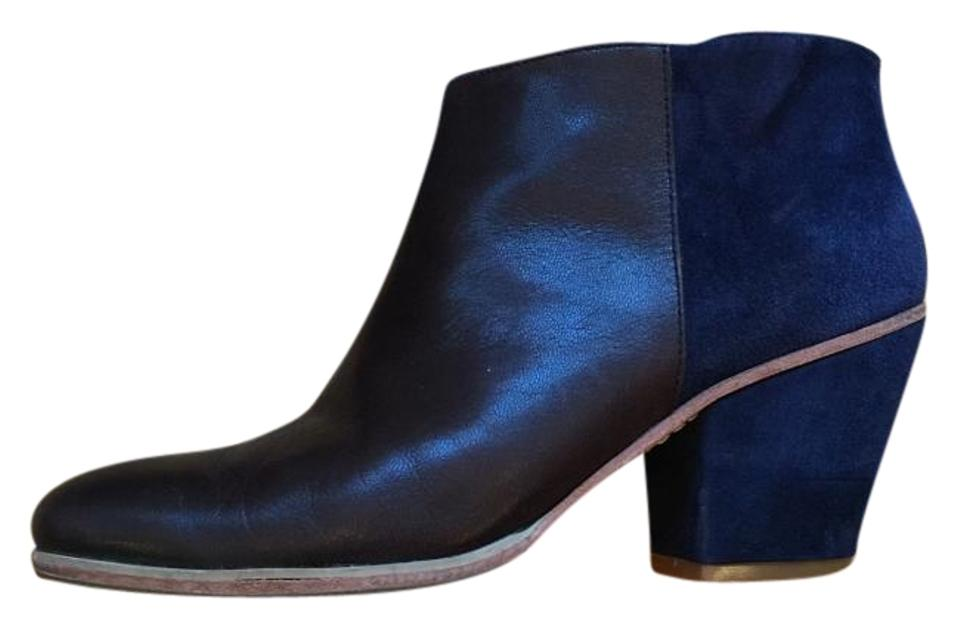 Rachel Comey Brown and Blue Boots/Booties Mars Ankle Boots/Booties Blue 2bf437
