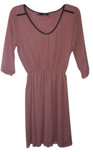 Maurices short dress Pink and Black Rose on Tradesy