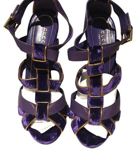 Gucci Purple and Gold Formal