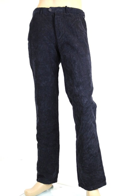 Item - Navy New Men's Corduroy Casual It 48/ Us 32 308407 4014 Groomsman Gift
