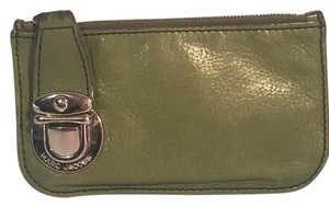 Marc Jacobs Green Leather Keychain