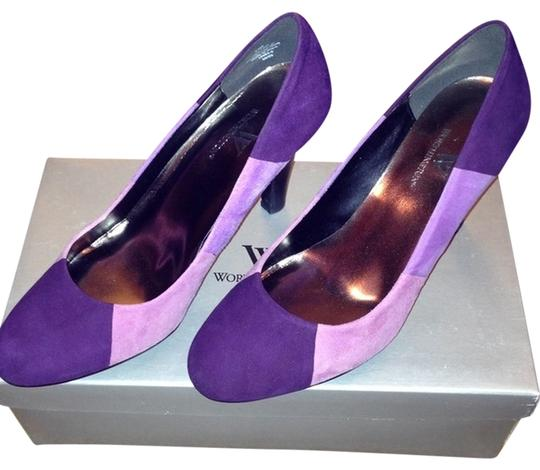 Worthington Purple Pumps