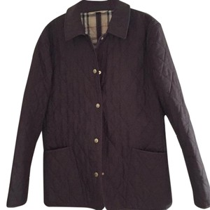 Burberry Chocolate Brown Jacket