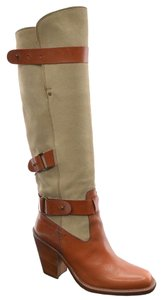 Barbara Bui Knee Italy Strappy Tall Brown Boots