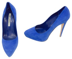 Brian Atwood Blue Platforms