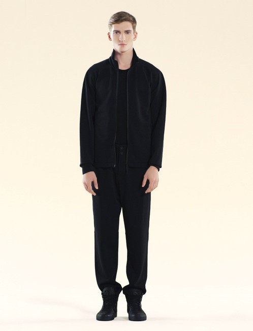 Item - Black Jersey XL Men's Technical Felted Cotton Viaggio Collection 308873 1039 Groomsman Gift